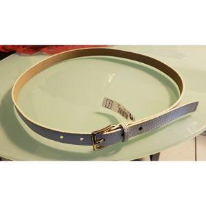 White Michael kors belt